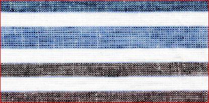 LIN-C-STP-2950 / PINK/FUSHIA/SKY / LINEN COTTON Multiple STRIPE 55/45