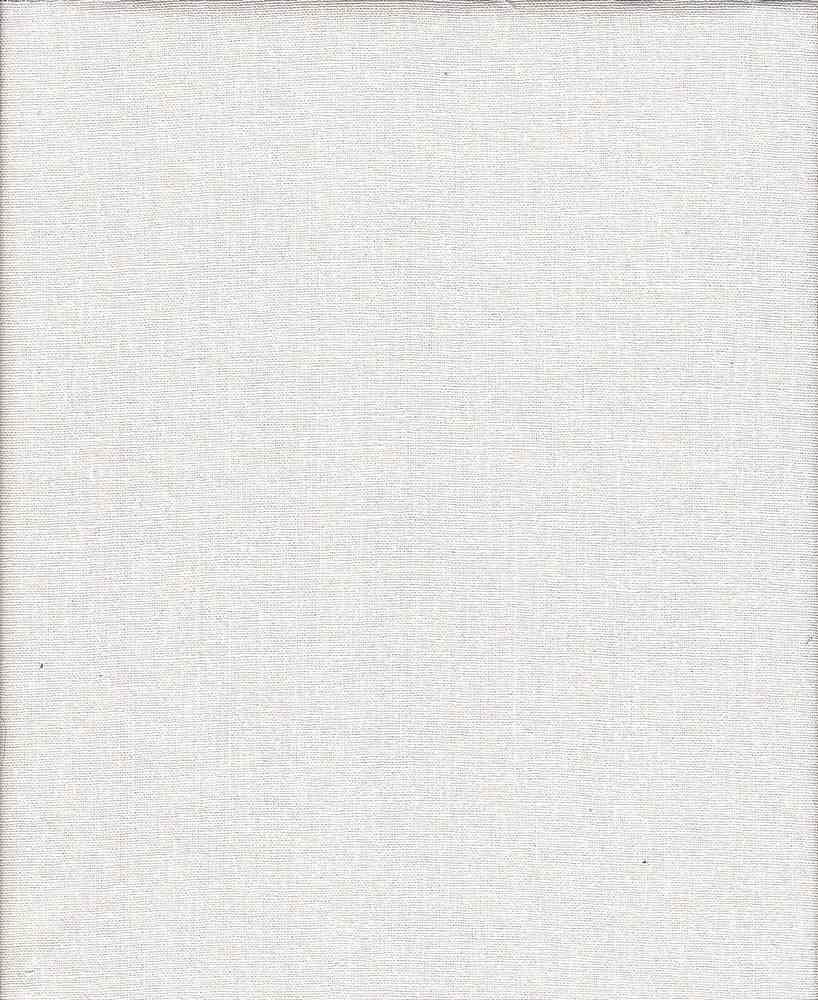 LIN-R-4438 / WHITE / 55%LINEN 45%RAYON
