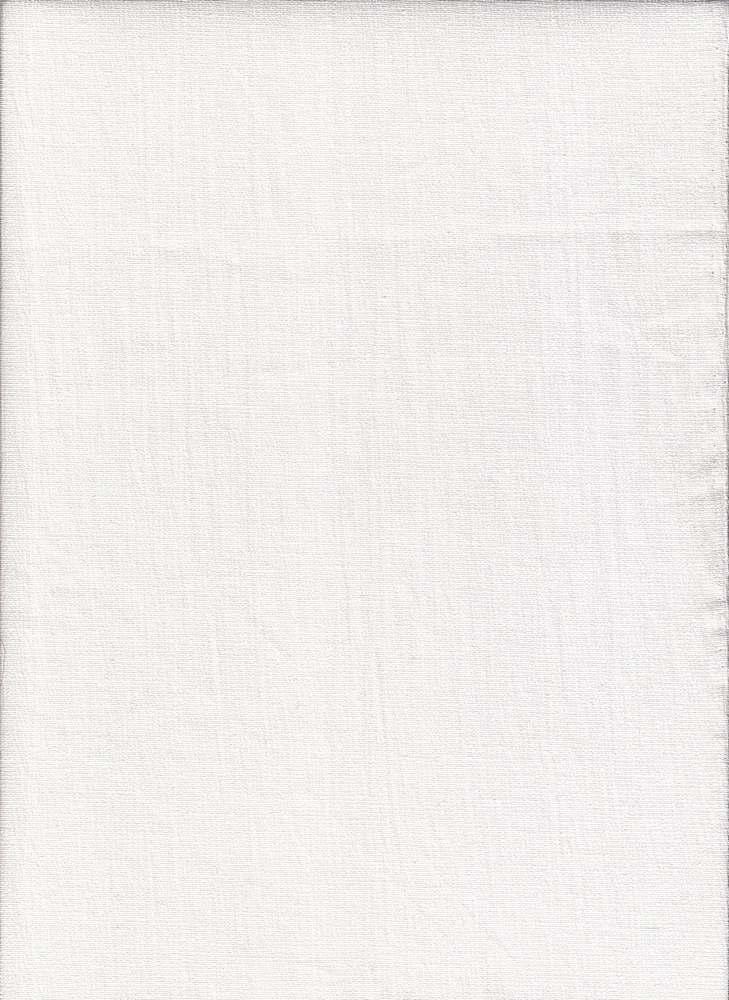 GUZ-S-2625 / WHITE / STRETCH GAUZE [97% COTTON/3% SPANDEX]