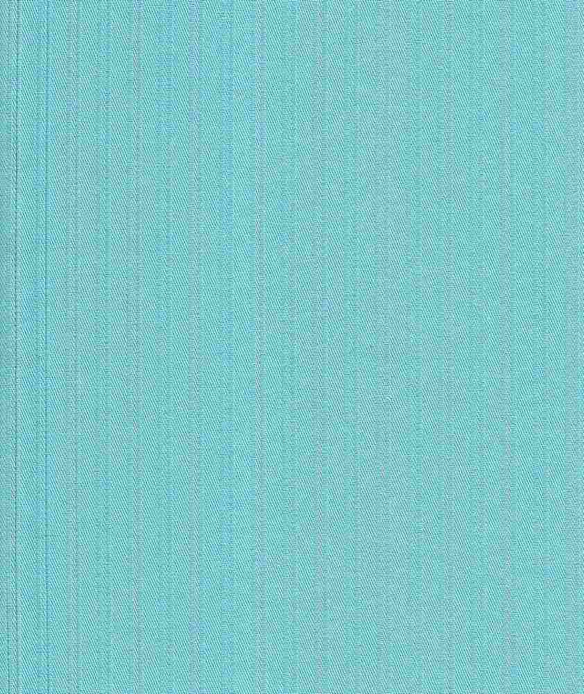 TWLS-STP-4201 / AQUA/RED / STRETCH TWILL DOBBY STRIPE C/S 97/3