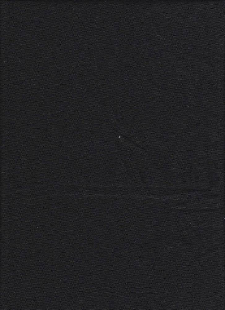 POPS-6 / BLACK / STRETCH POPLIN, 6-OZ