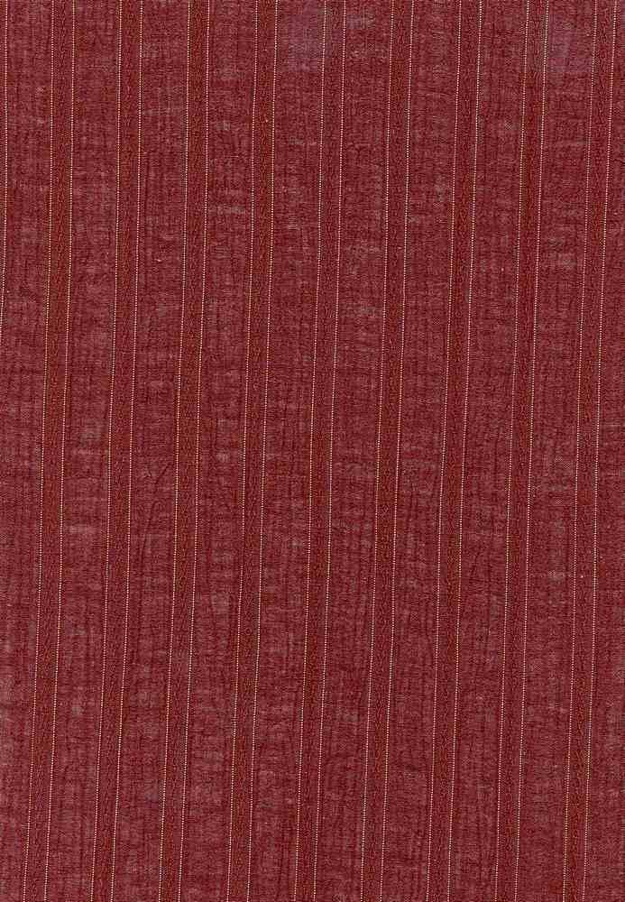 GUZ-STP-2625-LX / BROWN/GOLD / GAUZE LUREX 98%COTTON/2%LUREX