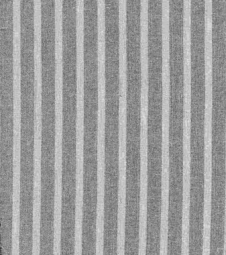 GUZ-STP-2619 / WHITE / SHADOW STRIPE GAUZE [100% COTTON]