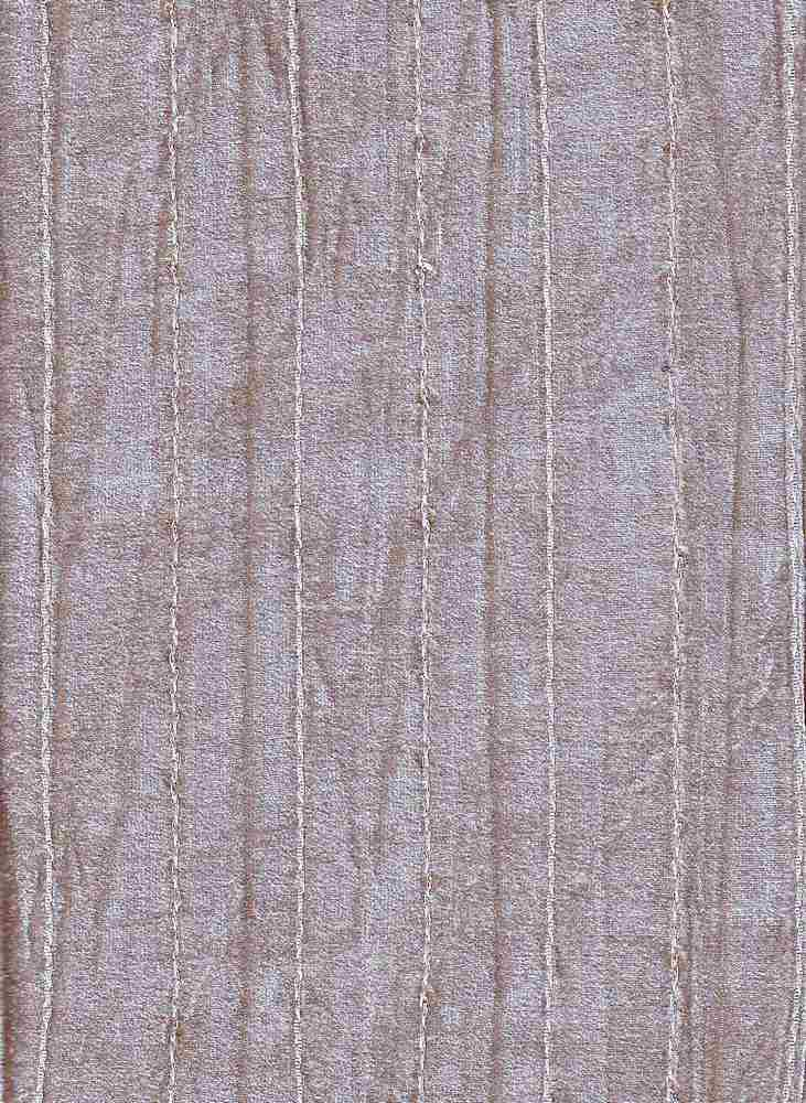 P-VELOUR-SQ / TAUPE / CVC VELOUR COTTON/POLY  80/20