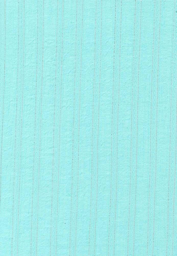 GUZ-STP-2625-LX / OCEAN/SLV / GAUZE LUREX 98%COTTON/2%LUREX