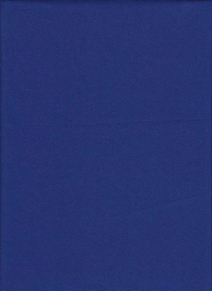 POPS-2000 / ROYAL / STRETCH POPLIN 97%COTTON 3%SPDX