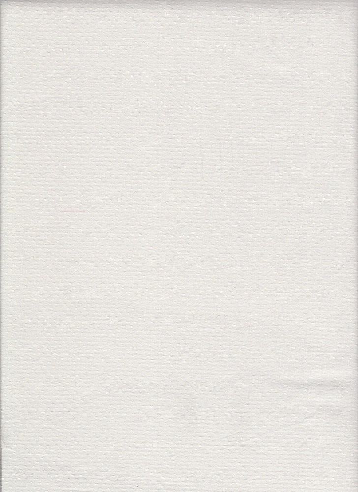 LWN-J327 / WHITE / 100%COT.JACQD. DOTS