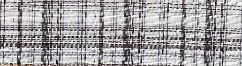 POPS-PLD-7-3 / BROWN / STCH CTN POPLIN Y/D PLAID