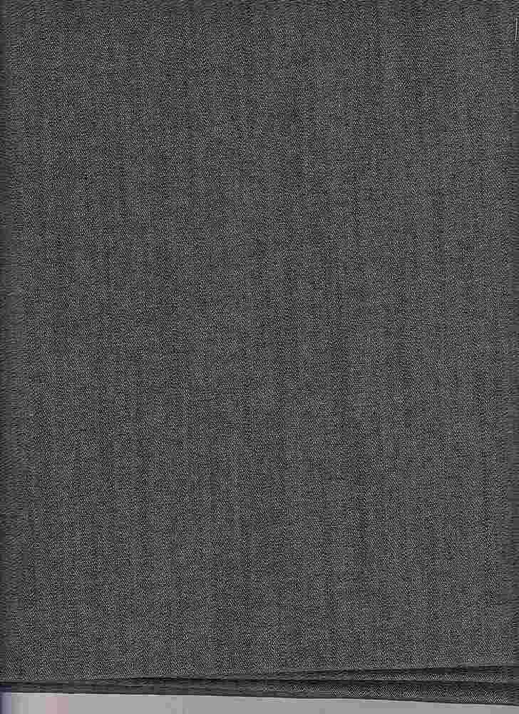 DENS-6-SLB-47 / BLACK / DENIM SLUB 6oz 97%CTN/3%SPDX