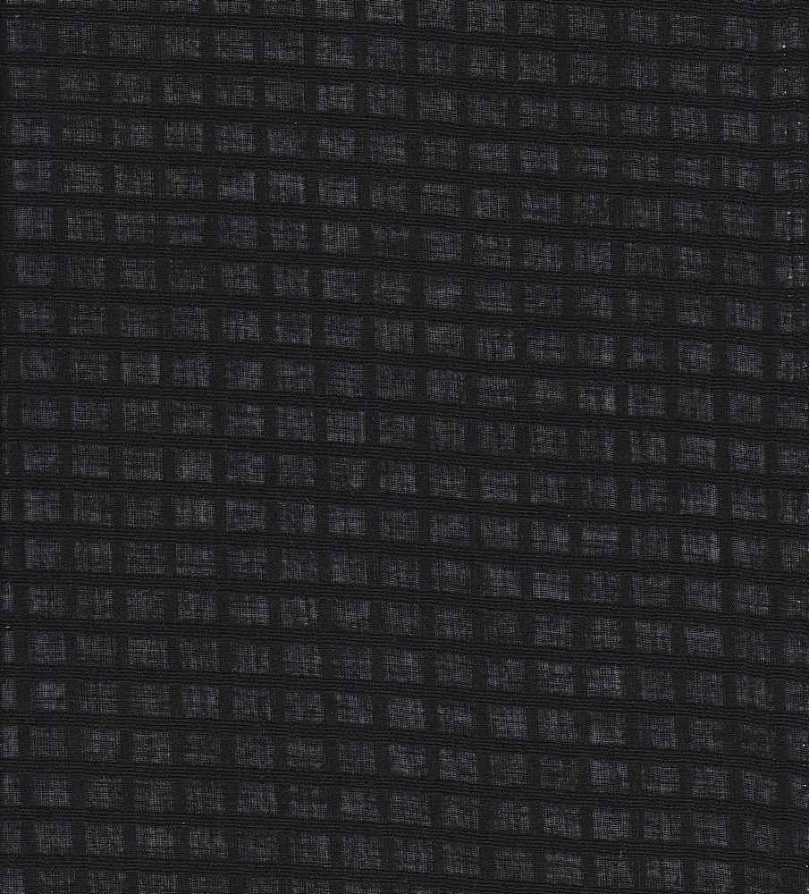 LWN-PLD-J502 / BLACK / COT.JCQRD WINDOW PAIN