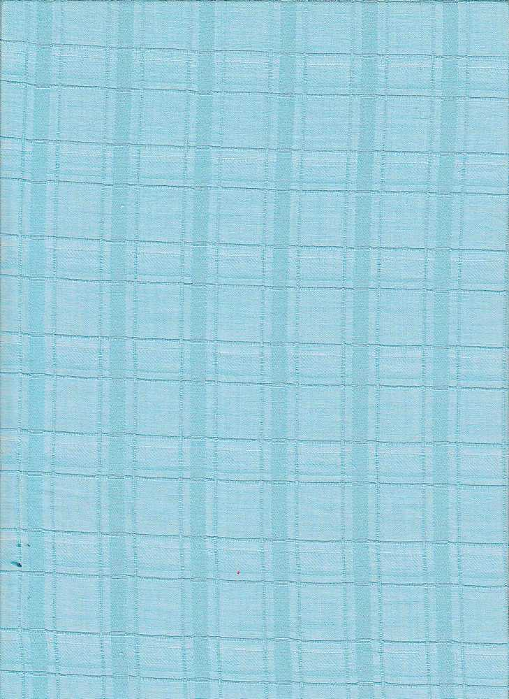 LWN-PLD-J350 / BLUE / COT.JACQUARD PLAID