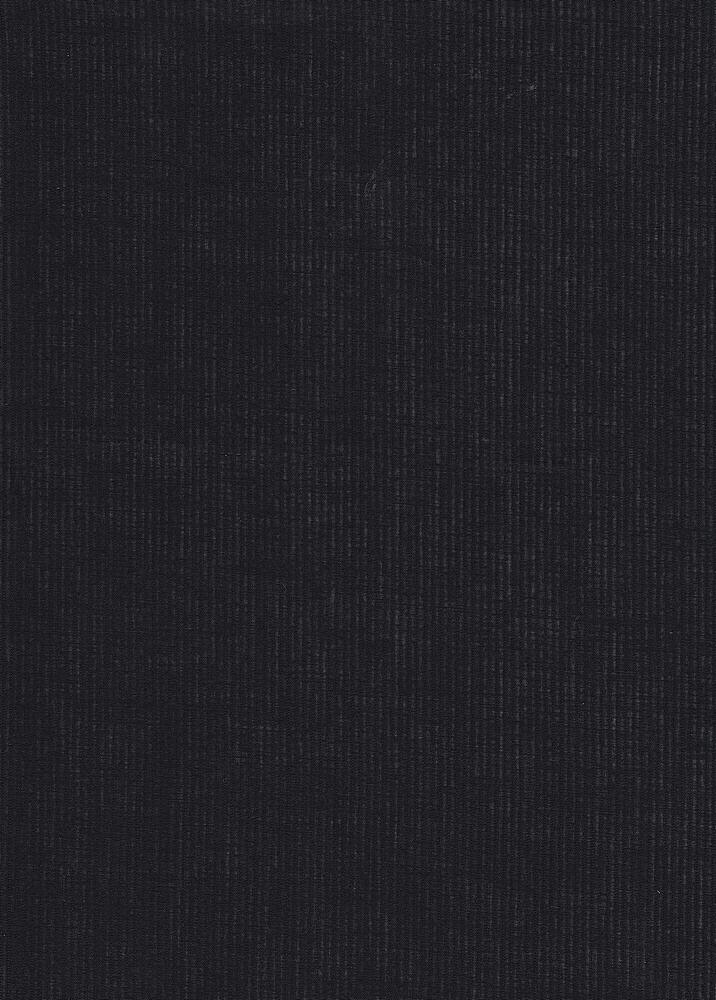 VL-412 / BLACK / 100%COT PIN STRIPE