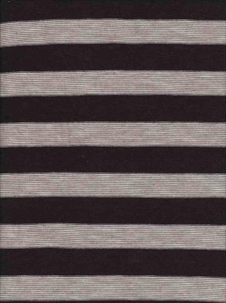 JER-PRS-STP-019 / BROWN / P/R/S 61/34/5 Hachi Y/D Stripe