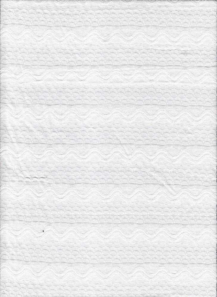 JER-LACE-STP-14 WHITE STRIPE JERSEY LACE