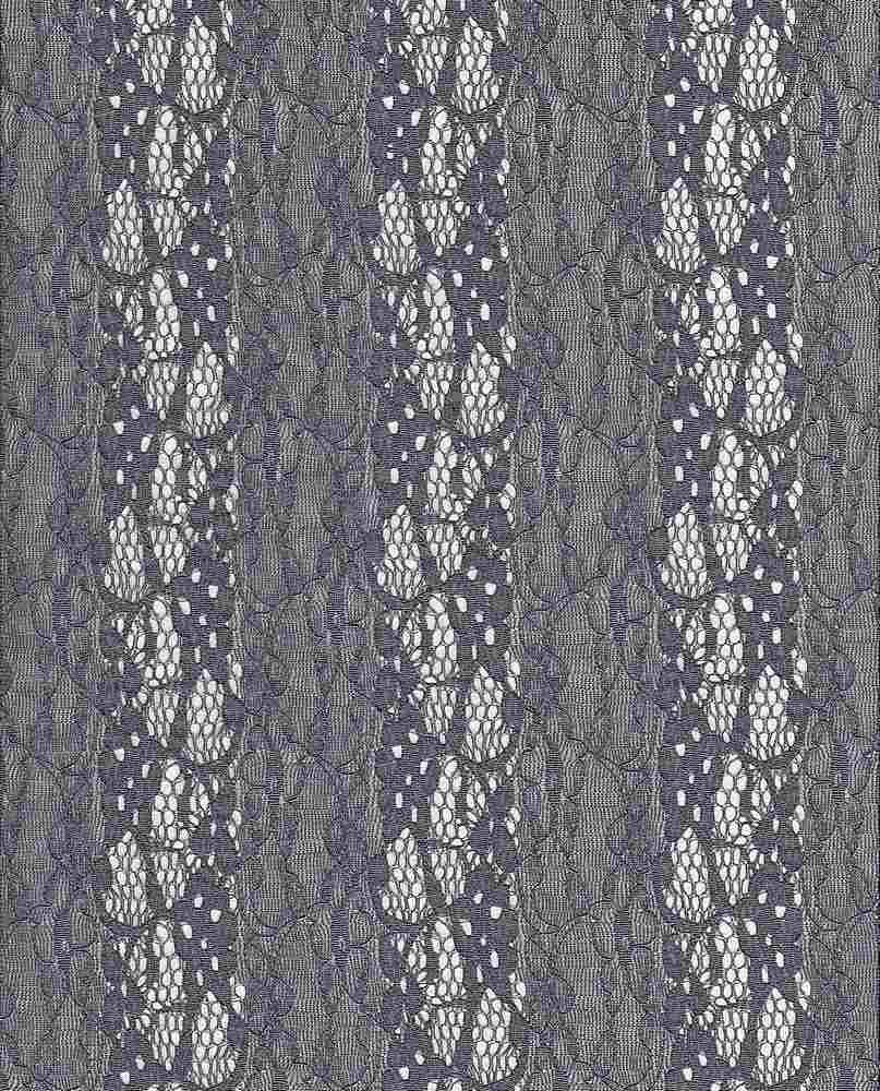 LACE-FA-015 / CHARCOAL / FANCY ST LACE,NYLN/SPDX
