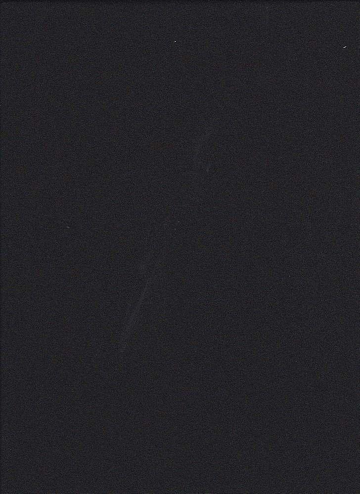 P-CHIF-CDC / BLACK / CDC CHIFFON 100% POLY