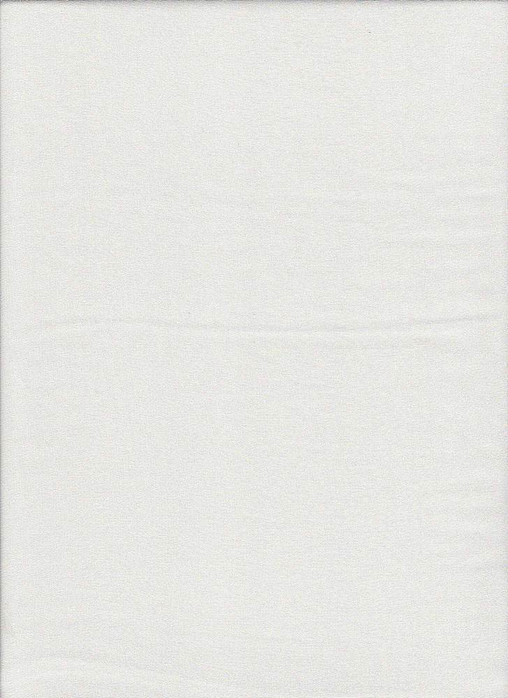 P-CHIF-WASHED / WHITE / 100% Poly,CURLY CHIFFON,Washed