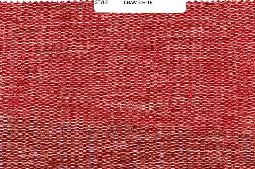 CHAM-CH-16 / RED / 100% Cotton
