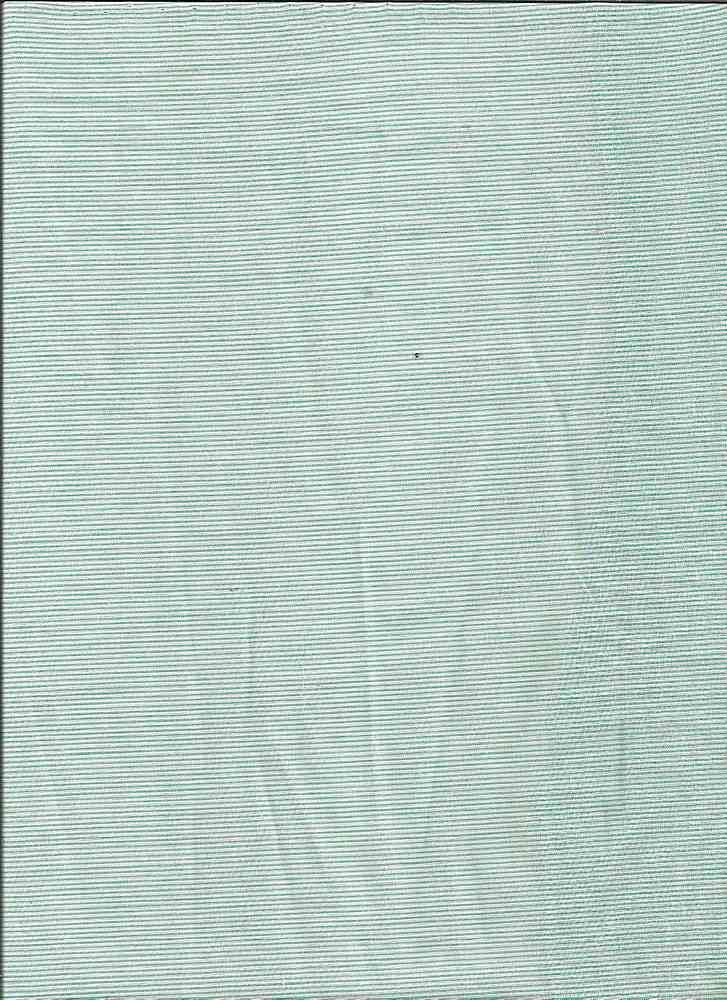 LWN-STP-1407 / AQUA / 100% COTTON LAWN STRIPE