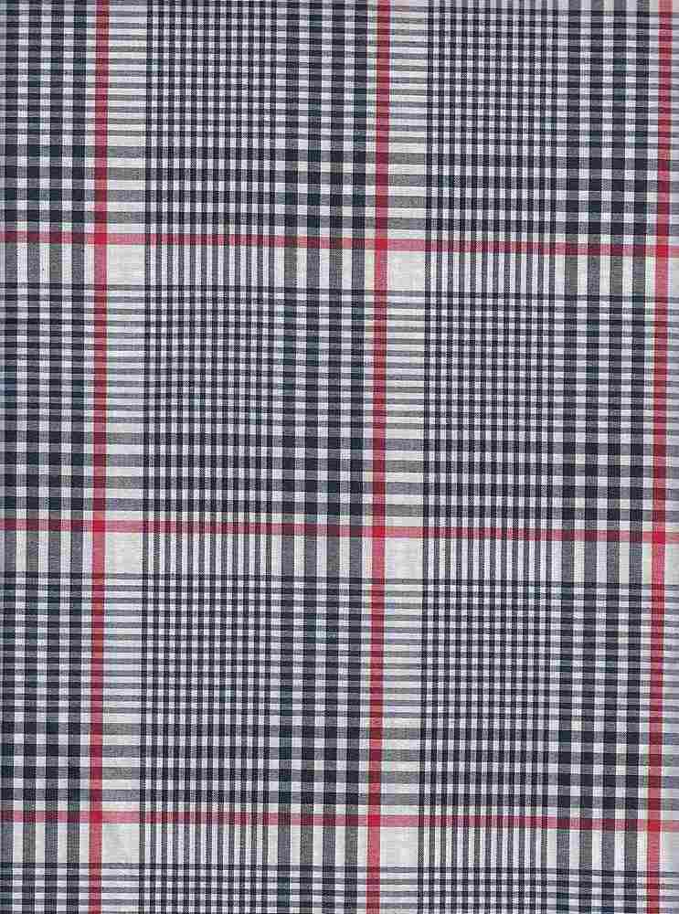 POPS-PLD-712-5 / NAVY / STCH CTN POP Y/D PLAID