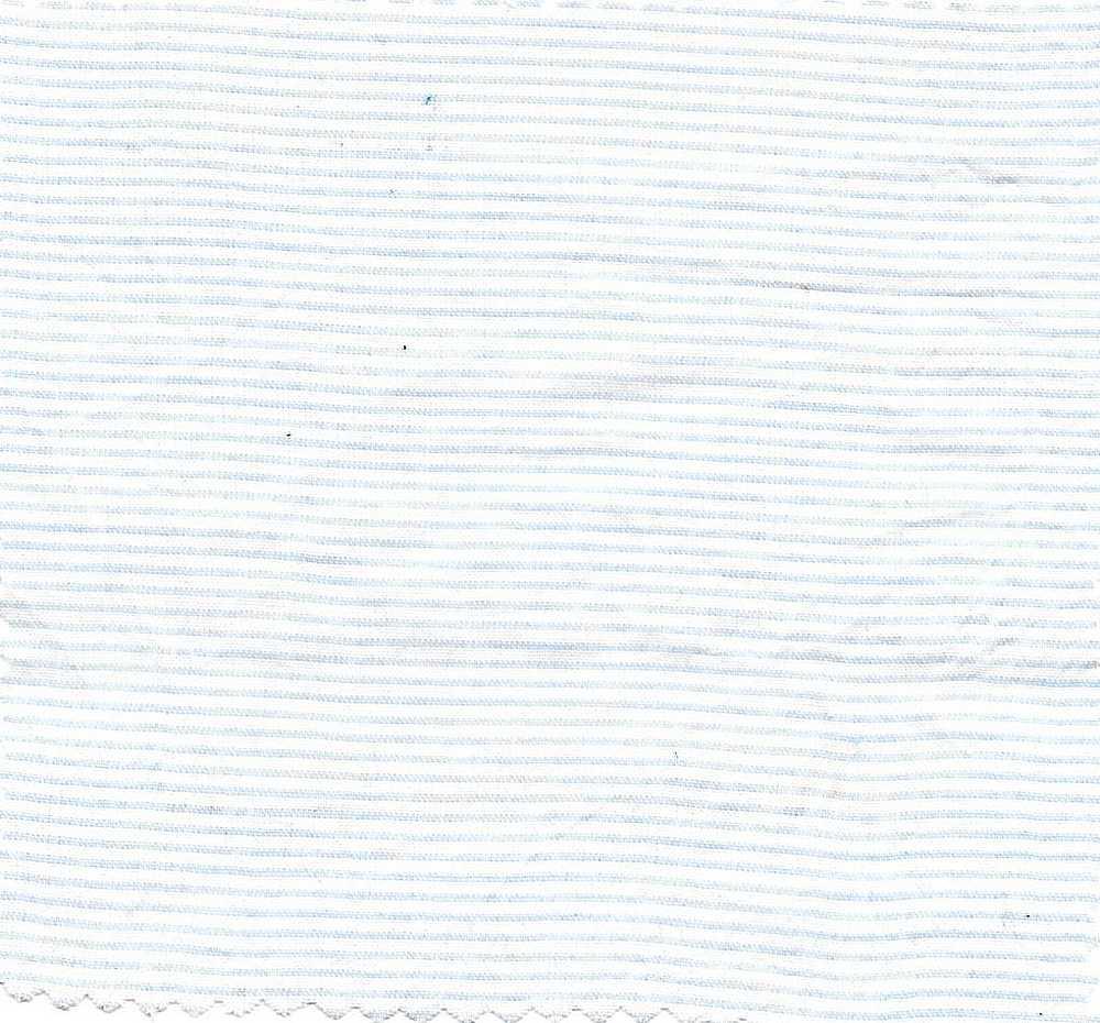 LWN-H-STP-A / SKY BLUE / 100% COTTON STRIPE CHAMBRAY