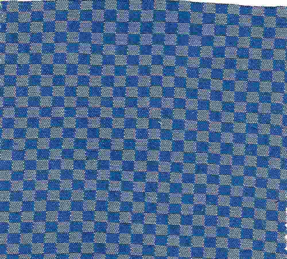 CHAM-CHK-815 / INDIGO / 100% COTTON CHECKER CHAMBRAY