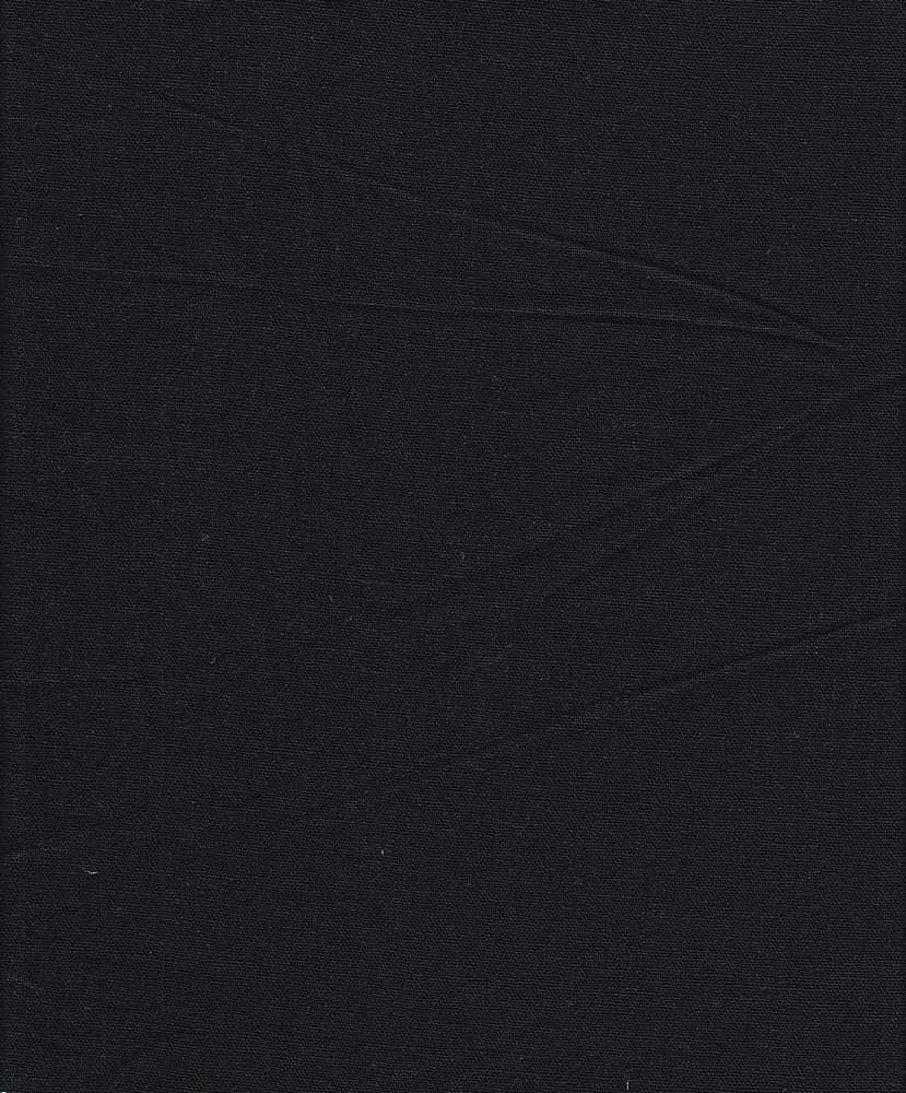 LIN-R-4438 / BLACK / 55%Linen 45%RAYON