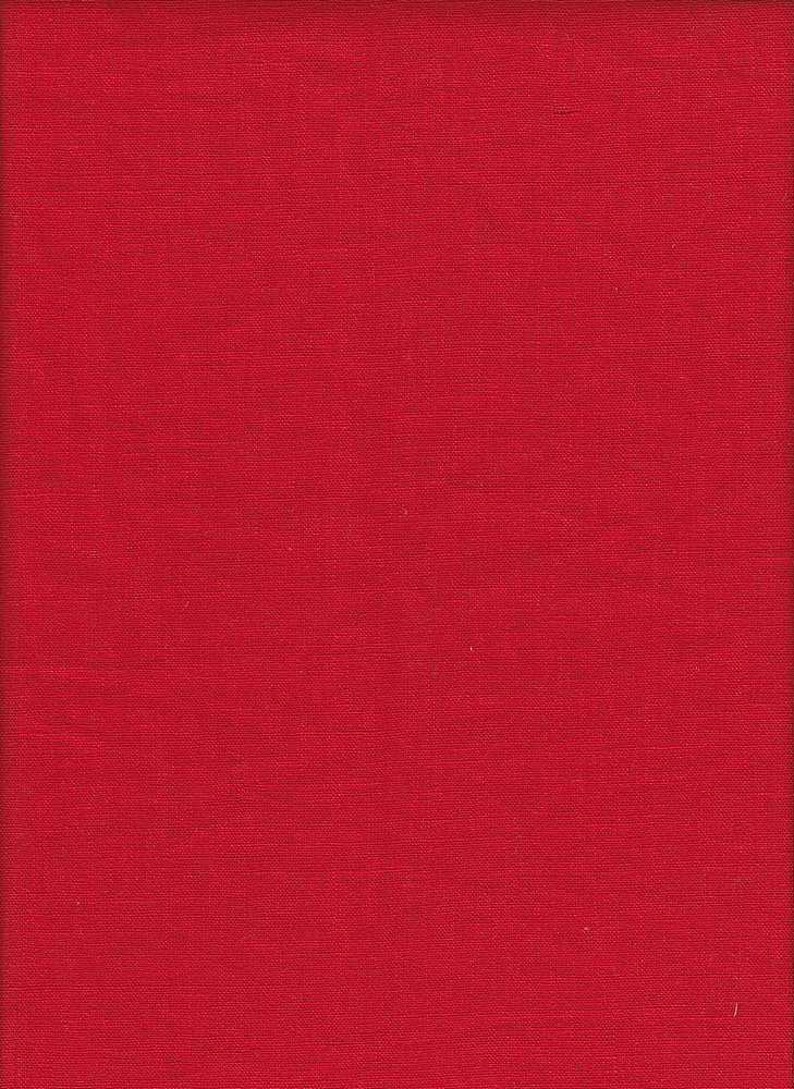 LIN-R-4438 / RED / 55%Linen 45%RAYON