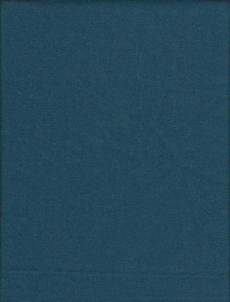 LIN-R-4438 / TEAL-DK / 55%Linen 45%RAYON