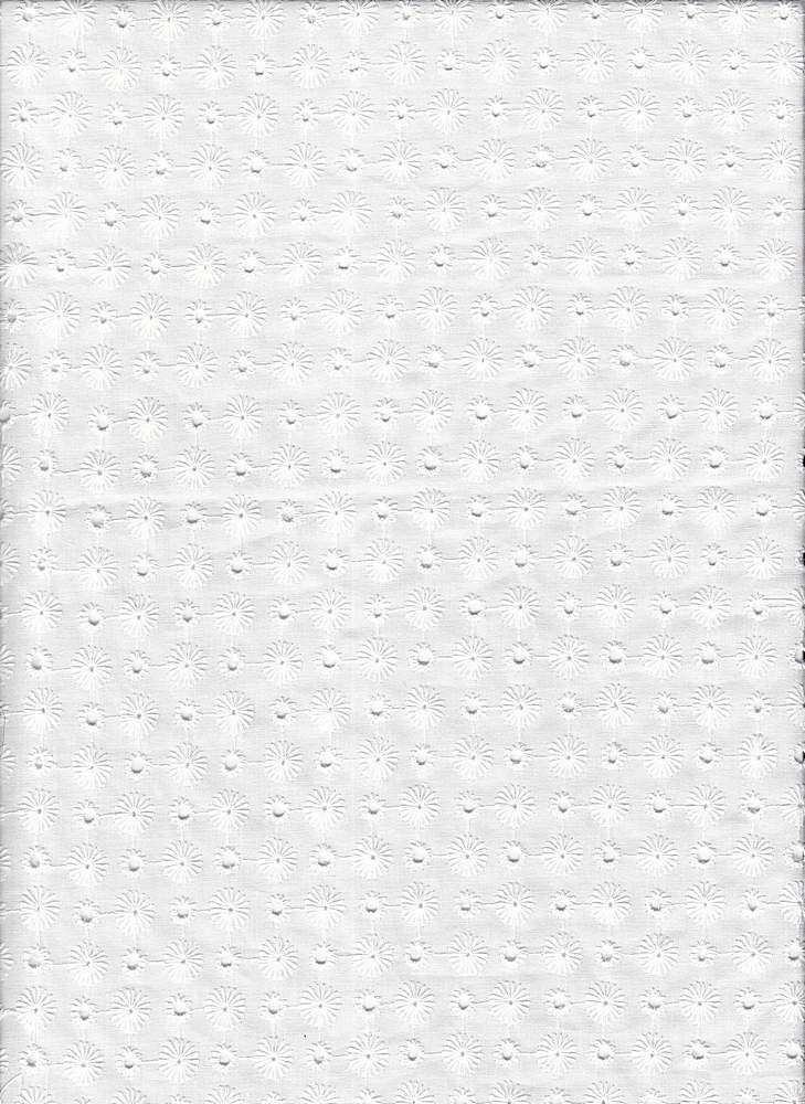 EMB-68 / WHITE / LAWN EMBRODERY