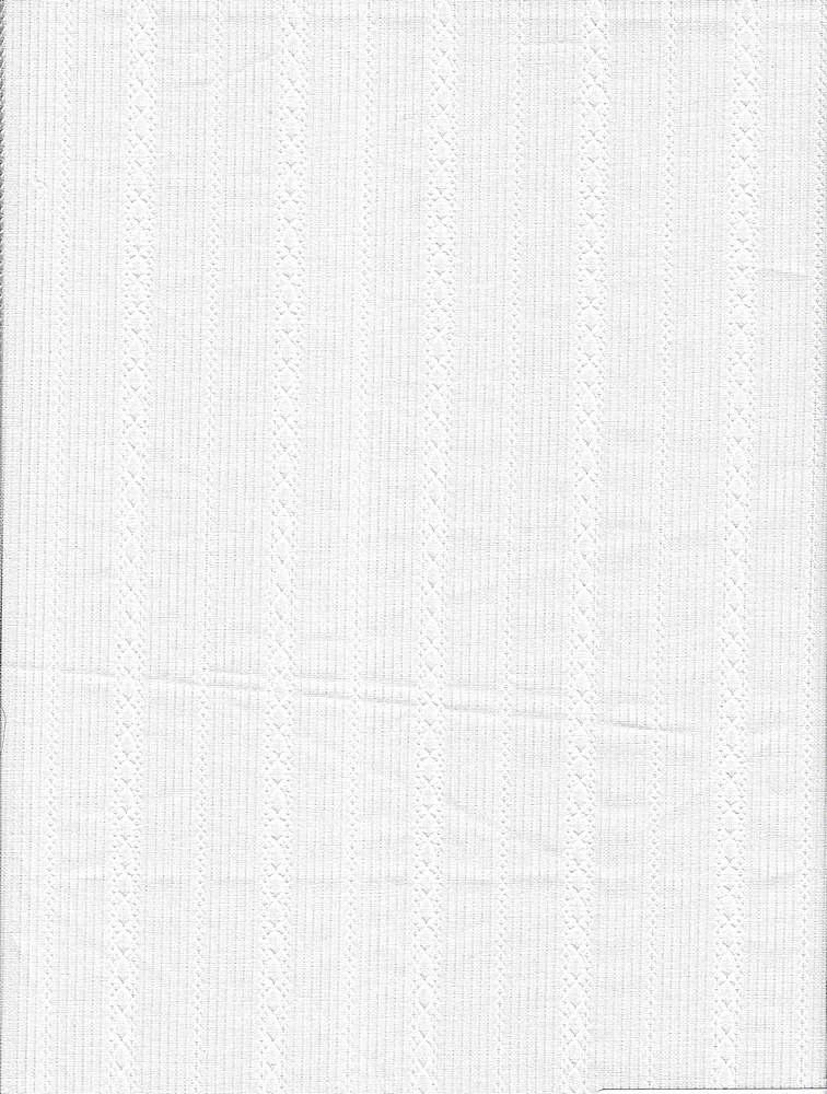 VL-466 / WHITE / 100%COT.DOBBY STRIPE