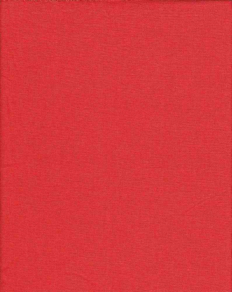 LIN-R-4438      / ORANGE-DK                 / 55% LINEN/45% RAYON