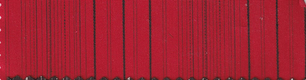 TWLS-STP-7-13 / RED/BLACK / STRIPE TWILL 97Ctn/3 Spdx