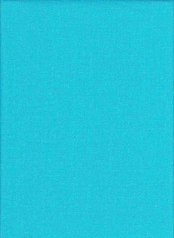 LIN-R-4438 / TURQUOISE / 55%Linen 45%RAYON