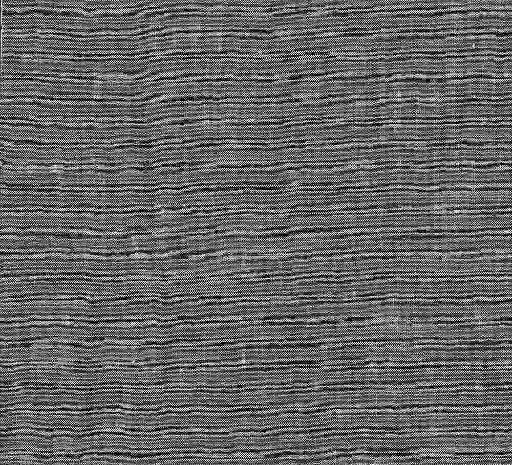 CHAM-CH-16 / BLACK / 100% Cotton Chambray CROSS HATCH