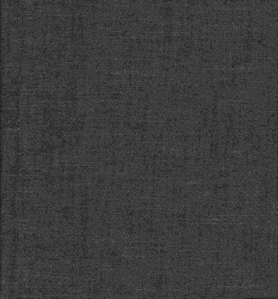 CHAM-SLB-178 / BLACK / SLUB CHAMBRAY 100%CTN