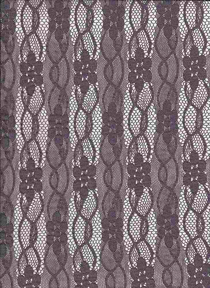 LACE-FA-032 / CHARCOAL / FANCY ST LACE,NYLN/SPDX