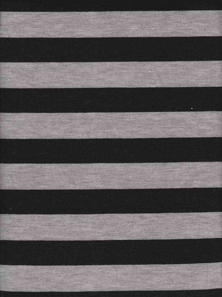 "JER-HAC-STP-1"" / GRAY/BLACK / P/R/SP HATCHI STRIPE 87/10/3"