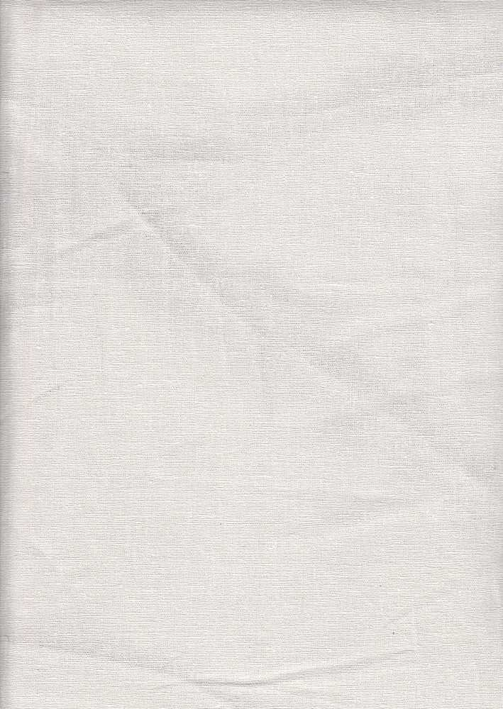 LIN-S / OFF/WHITE-B / STRETCH LINEN/RAYON/SPX L/R/S 50/47/3