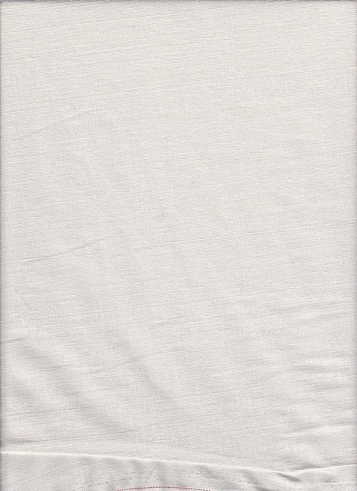 LIN-S / WHITE-A / STRETCH LINEN/RAYON/SPX L/R/S 50/47/3
