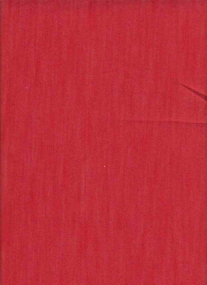 DENS-4-RUBINO / RED / RUBINO STCH SLUB DENIM,70%COT/27%PLY/3%SPDX