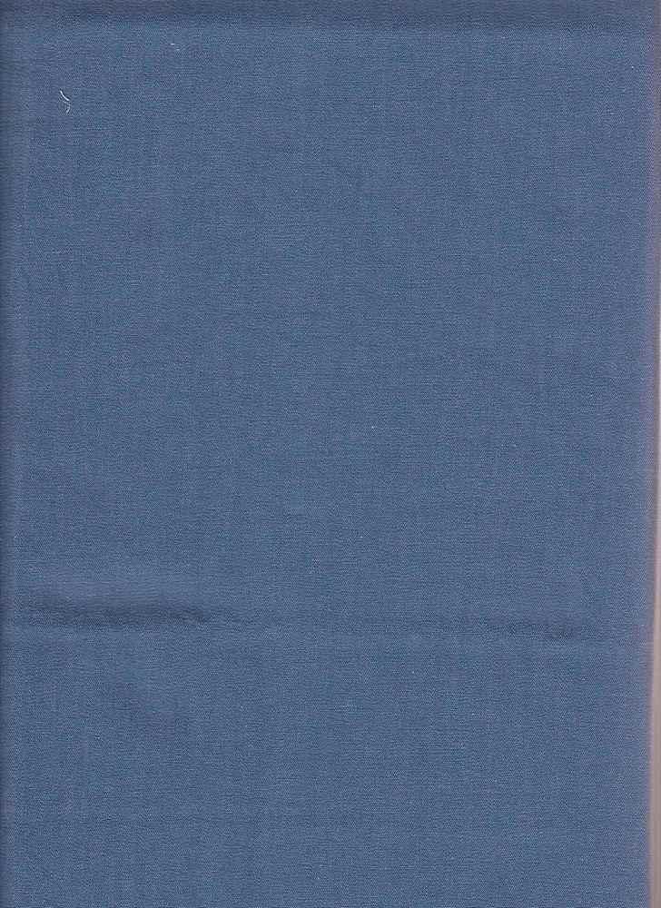 CHAM-DEN-7 / BLUE-LT / 100%COT.CHAMBRAY DENIM