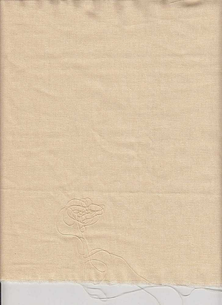 LIN-C-5 / CREAM / 55/45 LINEN COTTON