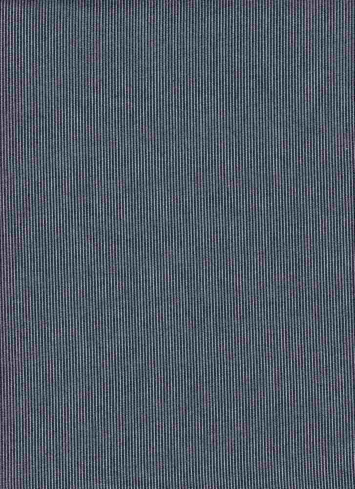 CHAM-STP-3232 / INDIGO / 100% COTTON STRIPE CHAMBRAY