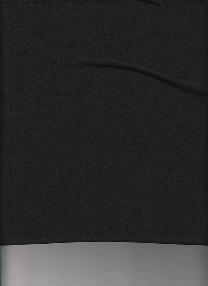 P-CHIF-WD / BLACK / 100% POLY CHIFFON WOOL DOBBY