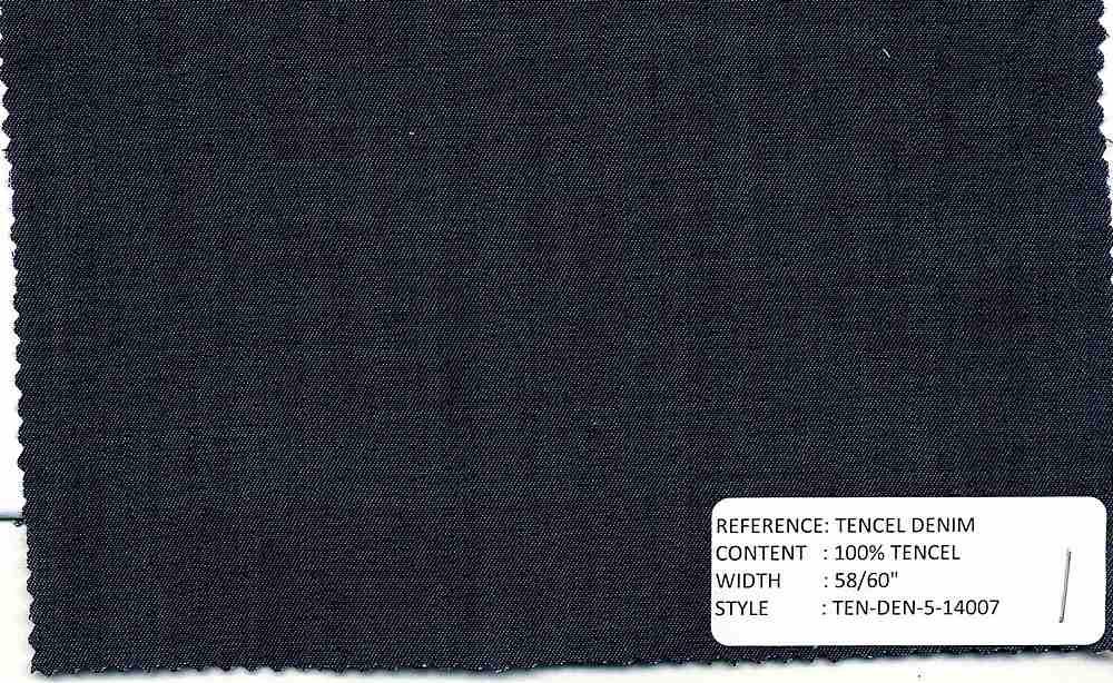 TEN-DEN-5-14007 / INDIGO / 100% TENCEL