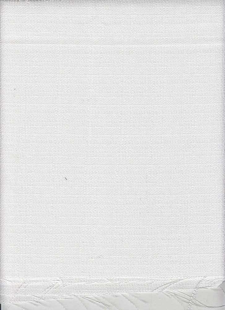<h2>LIN-POLY-FLAX</h2> / OFF/WHITE                 / 100% POLY FLAX