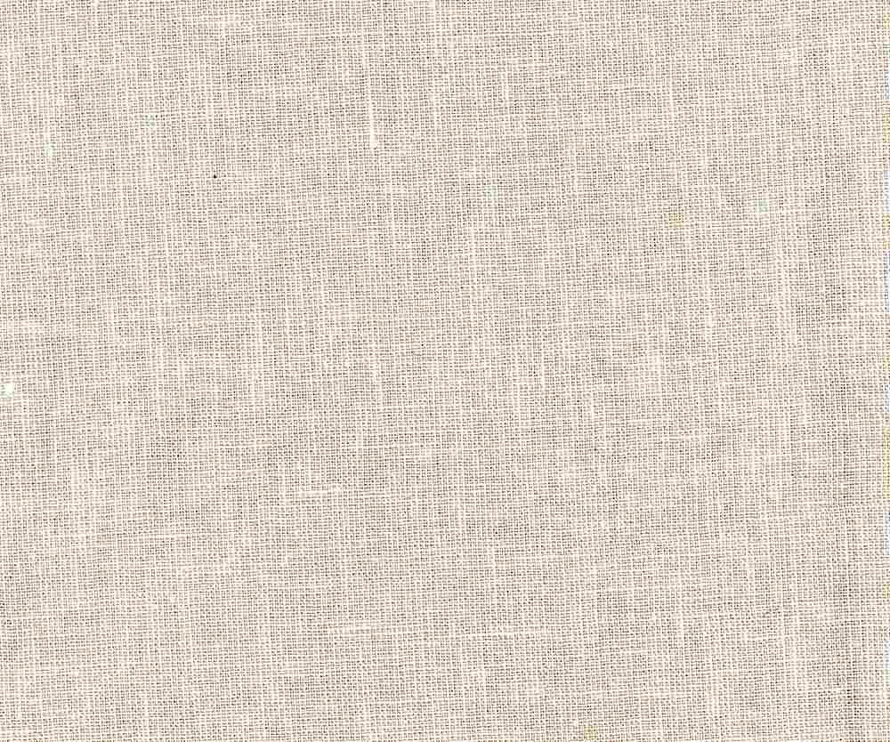 LIN-C-STP-615 / BEIGE/WHITE / LINEN COTTON YARN DYE STRIPE 55/45