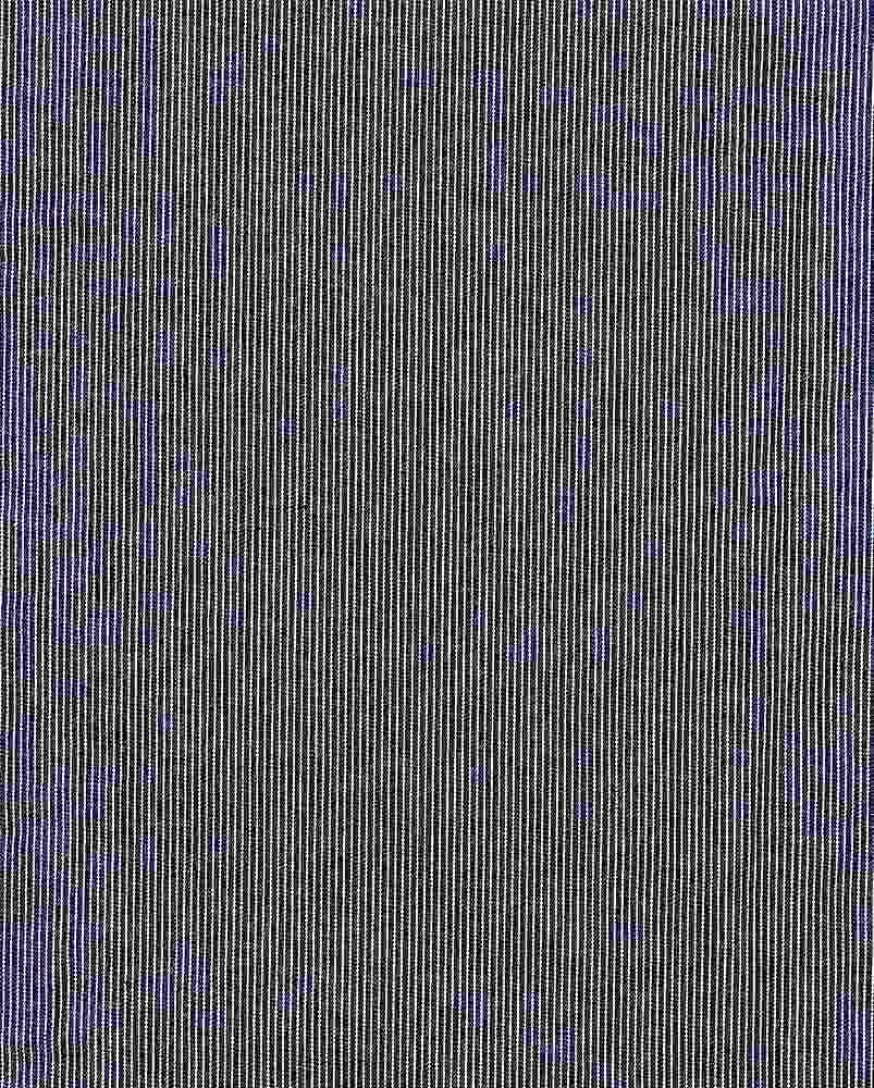 CHAM-STP-3232 / NAVY / 100% COTTON STRIPE CHAMBRAY