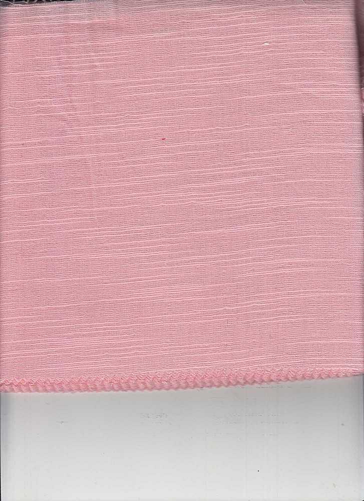 DBL-GUZ-SLB-241 / ROSE-A / 100% COTTON DOBBY SLUB